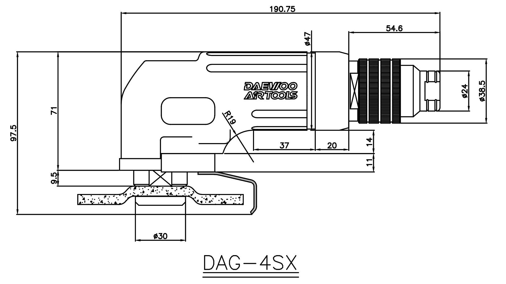 DAG-4SX_outer dimension