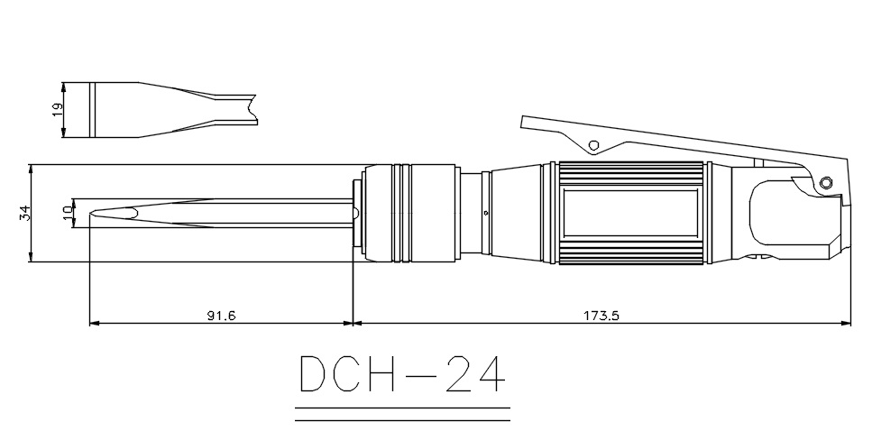 DCH-24 outer_dimension
